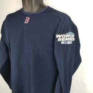 Majestic Boston Red Sox 2004 World Series Pullover